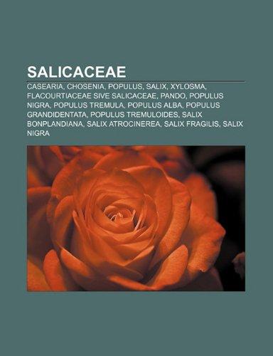 9781231443729: Salicaceae: Casearia, Chosenia, Populus, Salix, Xylosma, Flacourtiaceae Sive Salicaceae, Pando, Populus Nigra, Populus Tremula, Po