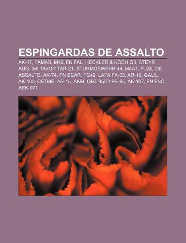 9781231457047: Espingardas de Assalto: AK-47, Famas, M16, FN