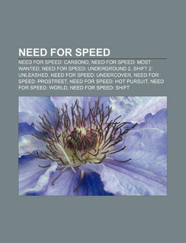 9781231488409: Need for Speed: Need for Speed: Carbono, Need for Speed: Most Wanted, Need for Speed: Underground 2, Shift 2: Unleashed