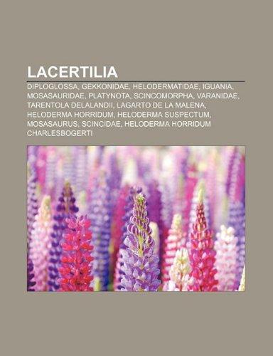 9781231529218: Lacertilia: Diploglossa, Gekkonidae, Helodermatidae, Iguania, Mosasauridae, Platynota, Scincomorpha, Varanidae, Tarentola Delaland