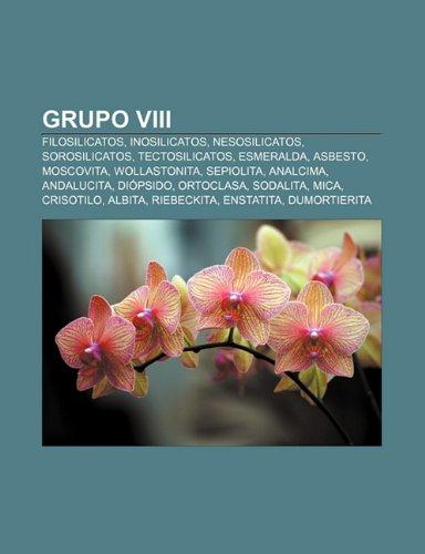 9781231529614: Grupo VIII: Filosilicatos, Inosilicatos, Nesosilicatos, Sorosilicatos, Tectosilicatos, Esmeralda, Asbesto, Moscovita, Wollastonita, Sepiolita