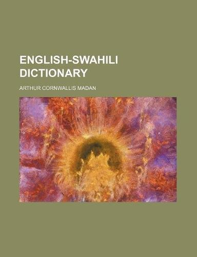 9781231586716: English-Swahili Dictionary