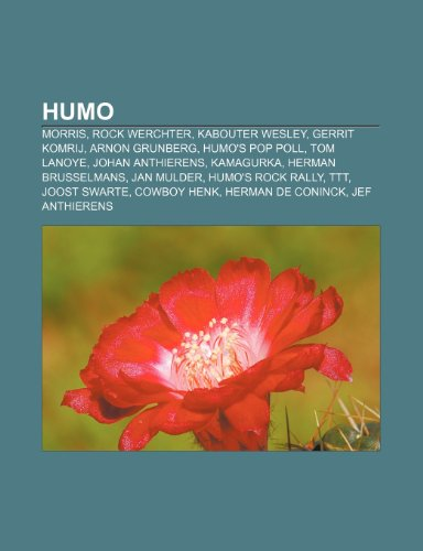 9781231689189: Humo: Morris, Rock Werchter, Kabouter Wesley, Gerrit Komrij, Arnon Grunberg, Humo's Pop Poll, Tom Lanoye, Johan Anthierens, Kamagurka
