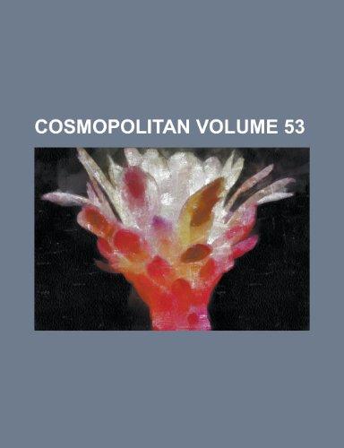 9781231811085: Cosmopolitan Volume 53