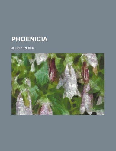 9781232008910: Phoenicia