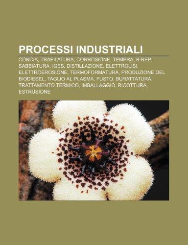 9781232118893: Processi industriali: Concia, Trafilatura, Corrosione, Tempra, B-Rep, Sabbiatura, IGES, Distillazione, Elettrolisi, Elettroerosione