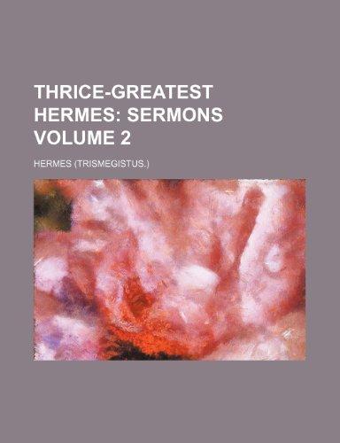 9781232177609: Thrice-greatest Hermes Volume 2