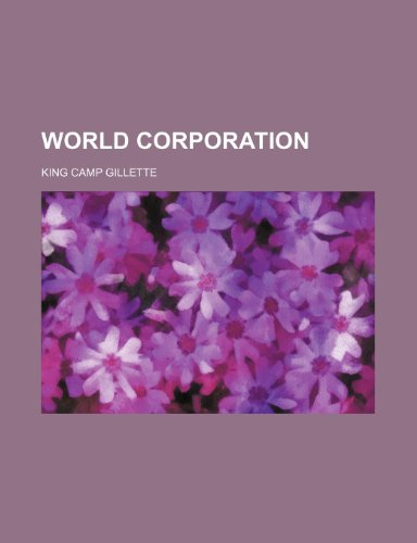 9781232211990: World Corporation