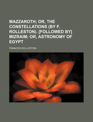 9781232254980: Mazzaroth