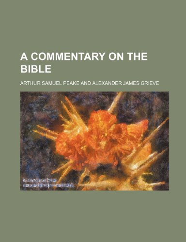 9781232260738: A commentary on the Bible