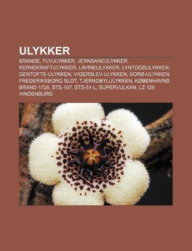 9781232282174: Ulykker: Brande, Flyulykker, Jernbaneulykker, Kernekraftulykker, Lavineulykker, Lyntogsulykken, Gentofte-Ulykken, Vigerslev-Uly