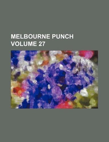 9781232378815: Melbourne Punch Volume 27