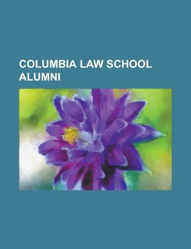 Columbia Law School Alumni: Franklin D.: Franklin
