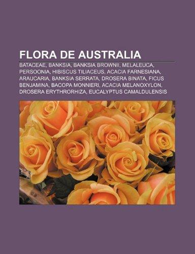 9781232505419: Flora de Australia: Bataceae, Banksia, Banksia Brownii, Melaleuca, Persoonia, Hibiscus Tiliaceus, Acacia Farnesiana, Araucaria, Banksia Se