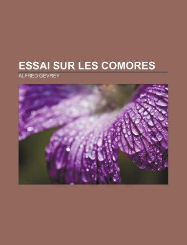 9781232516293: Essai sur les Comores (French Edition)