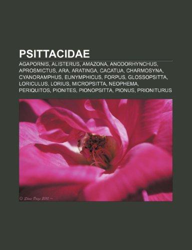 9781232547105: Psittacidae: Agapornis, Alisterus, Amazona, Anodorhynchus, Aprosmictus, Ara, Aratinga, Cacatua, Charmosyna, Cyanoramphus, Eunymphic