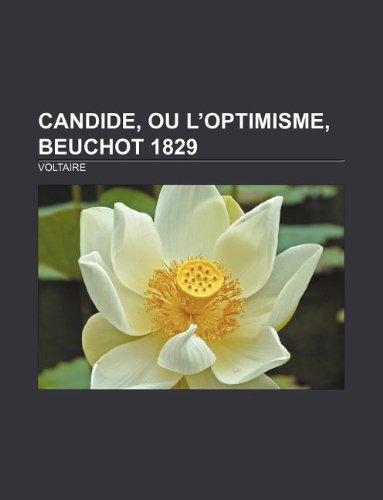 9781232558569: Candide, ou l'Optimisme, Beuchot 1829 (French Edition)