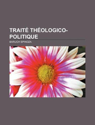 9781232558965: Traite Theologico-Politique