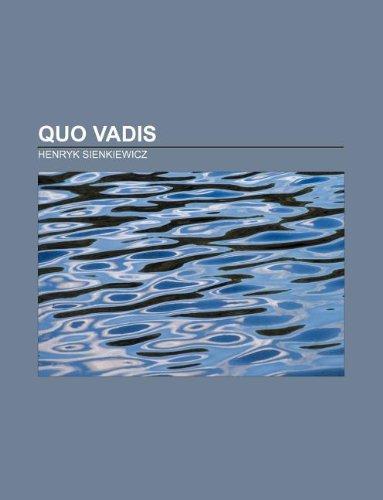 9781232559092: Quo vadis (French Edition)