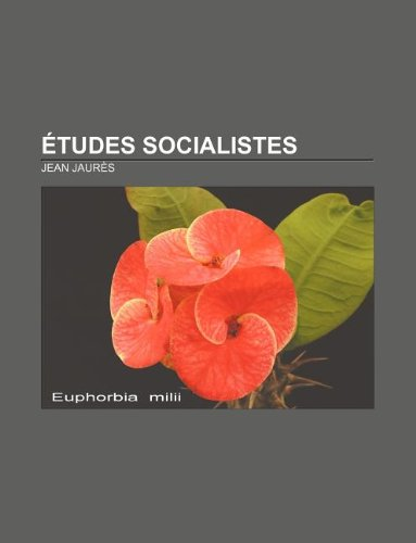 9781232560258: Etudes Socialistes (French Edition)