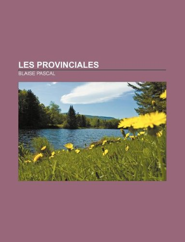 9781232560579: Les Provinciales (French Edition)