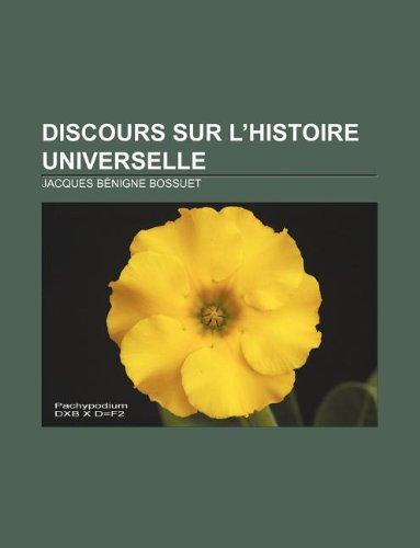 9781232560920: Discours sur l'Histoire universelle (French Edition)