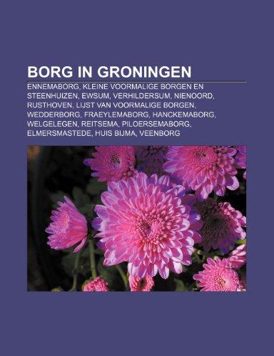 9781232564980: Borg in Groningen: Ennemaborg, Kleine Voormalige Borgen En Steenhuizen, Ewsum, Verhildersum, Nienoord, Rusthoven, Lijst Van Voormalige Bo