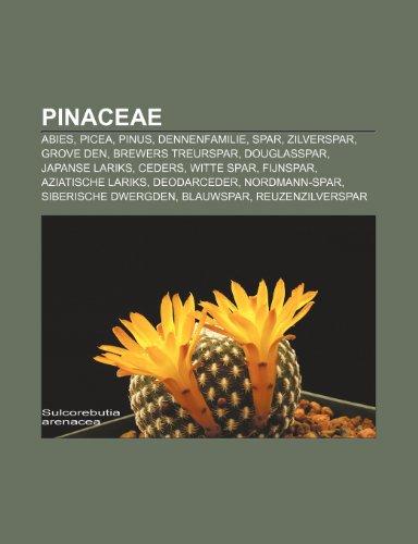 9781232584087: Pinaceae: Abies, Picea, Pinus, Dennenfamilie, Spar, Zilverspar, Grove den, Brewers treurspar, Douglasspar, Japanse lariks, Ceders, Witte spar