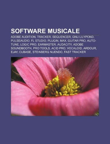 9781232615125: Software Musicale: Adobe Audition, Tracker