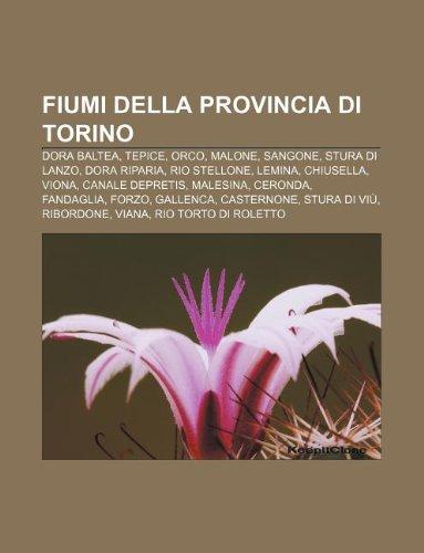 9781232619499: Fiumi Della Provincia Di Torino: Dora Baltea, Tepice, Orco, Malone, Sangone, Stura Di Lanzo, Dora Riparia, Rio Stellone, Lemina, Chiusella