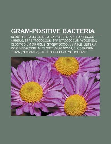 9781233074051: Gram-positive bacteria: Clostridium botulinum, Bacillus, Staphylococcus aureus, Streptococcus, Streptococcus pyogenes, Clostridium difficile