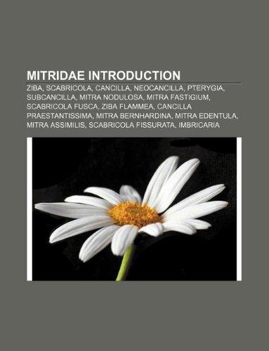 9781233081042: Mitridae Introduction: Ziba, Scabricola, Cancilla, Neocancilla, Pterygia, Subcancilla, Mitra Nodulosa, Mitra Fastigium, Scabricola Fusca