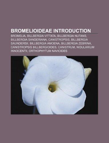 9781233112210: Bromelioideae Introduction: Bromelia, Billbergia Vittata, Billbergia Nutans, Billbergia Sanderiana, Canistropsis, Billbergia Saundersii