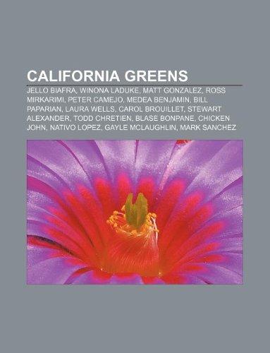 9781233132393: California Greens: Jello Biafra, Winona