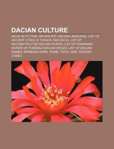 Dacian culture: Dacia in fiction, Dacian art,: Source: Wikipedia