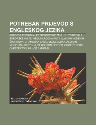 9781233344550: Potreban Prijevod S Engleskog Jezika: Sun Eva Energija, Prekomorske Zemlje I Teritoriji Europske Unije