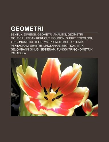 9781233904020: Geometri: Bentuk, Dimensi, Geometri Analitis, Geometri Molekul, Irisan Kerucut, Poligon, Sudut, Topologi, Trigonometri, Teori Vs