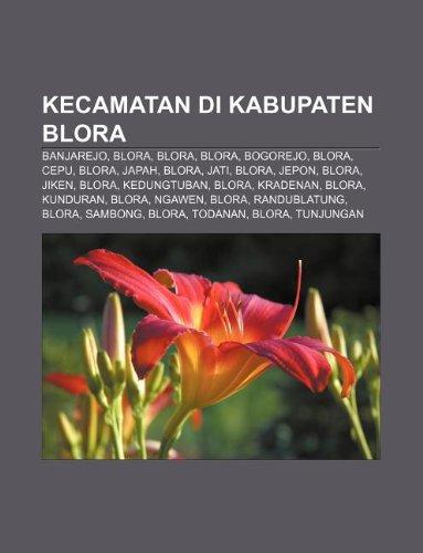 9781233906819: Kecamatan Di Kabupaten Blora: Banjarejo, Blora, Blora, Blora, Bogorejo, Blora, Cepu, Blora, Japah, Blora, Jati, Blora, Jepon, Blora, Jiken