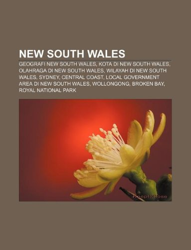 9781233922062: New South Wales: Geografi New South Wales, Kota Di New South Wales, Olahraga Di New South Wales, Wilayah Di New South Wales, Sydney