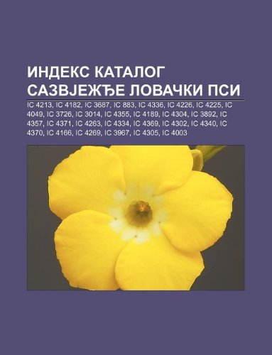 9781234013448: Indeks Katalog Sazvje E Lova KI Psi: IC 4213, IC 4182, IC 3687, IC 883, IC 4336, IC 4226, IC 4225, IC 4049, IC 3726, IC 3014, IC 4355, IC 4189