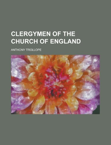 9781234126551: Clergymen of the Church of England