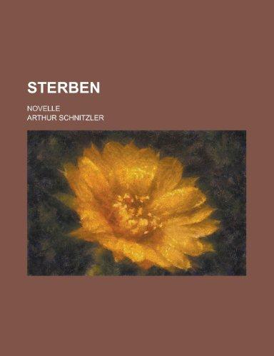9781234343132: Sterben; Novelle