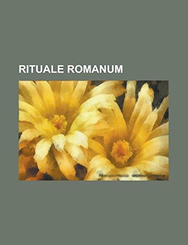 9781234410421: Rituale romanum