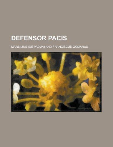 9781234413644: Defensor Pacis
