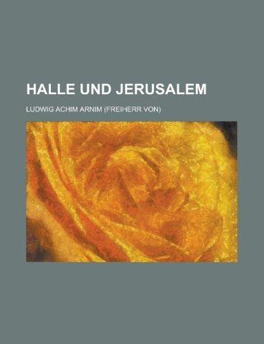 9781234514778: Halle und Jerusalem