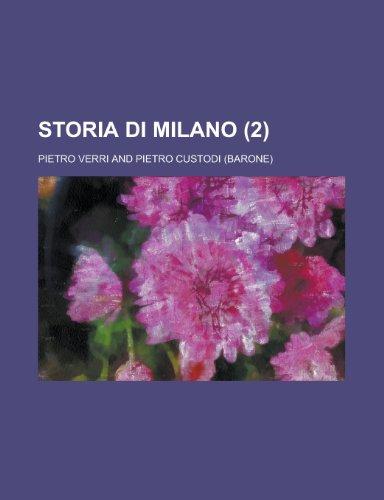 9781234535292: Storia Di Milano (2)