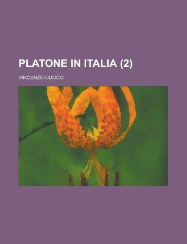 9781234539894: Platone in Italia (2)