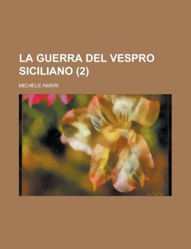 9781234561765: La Guerra del Vespro Siciliano (2 )