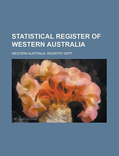 9781234608767: Statistical register of Western Australia
