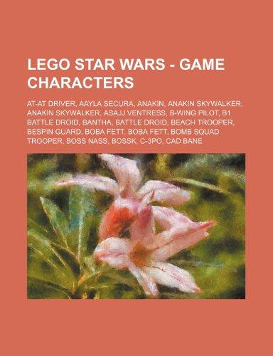 9781234658809: Lego Star Wars - Game Characters: At-At Driver, Aayla Secura, Anakin, Anakin Skywalker, Anakin Skywalker, Asajj Ventress, B-Wing Pilot, B1 Battle Droi